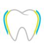Zahn mit oxylapatit und Fluor