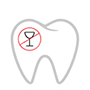 Zahn ohne Alkohol